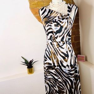 Maggie London animal print dress